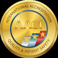 AACI Accreditation mark GOLD